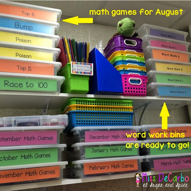 Classroom Organizing Ideas: Tips For Storing And Organizing Centers